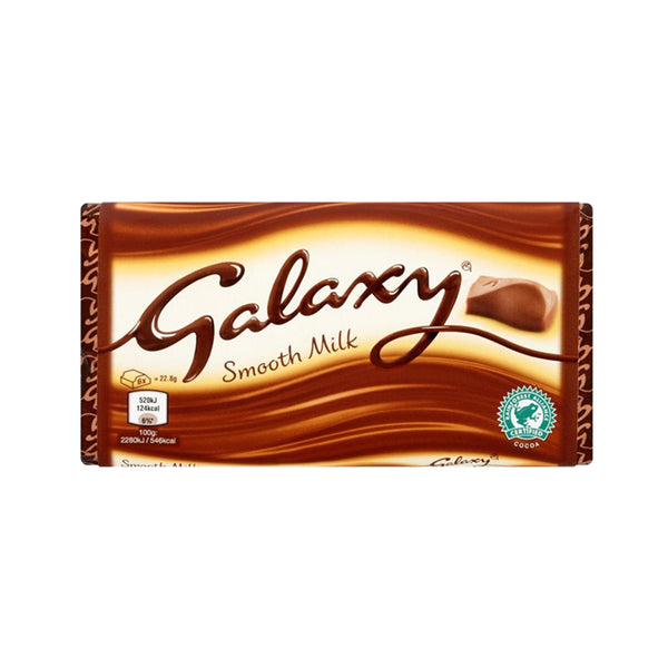 Galaxy Block Smooth Milk 110g