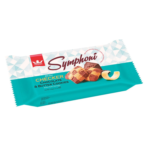 Tatawa Symphoni Checker Choc Butter  Cookies 128g