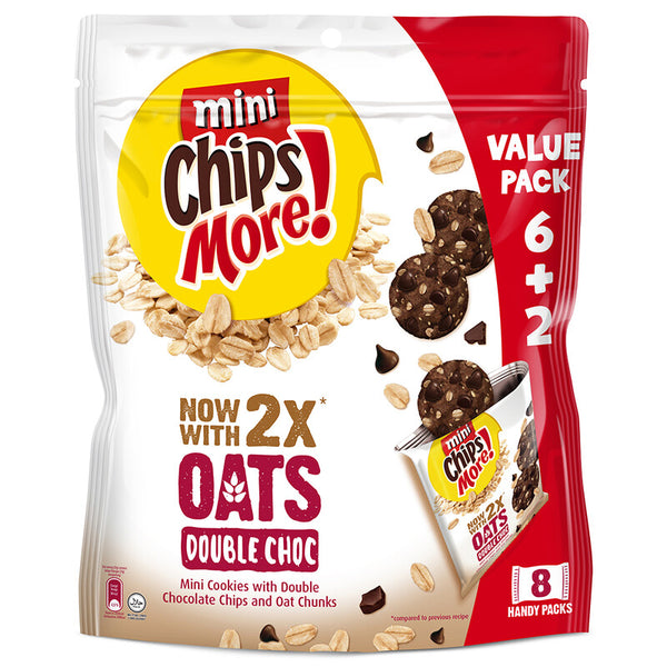ChipsMore Oats Double Chocolate Value Pack 28g