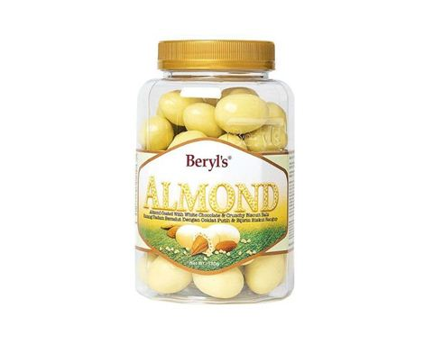 Beryl's Almond White Chocolate with Biscuit ball 380g