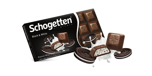 Schogetten Black & White Chocolate 100g