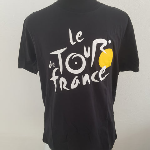 TOUR DE FRANCE PLAYERA COTTON MEN Negra