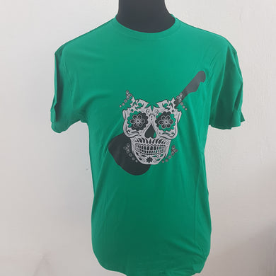 Rock & Roll Caballero Playera Verde