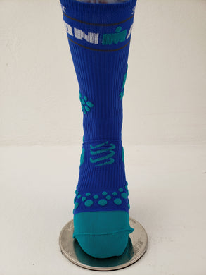 Calcetin Compressport Azul