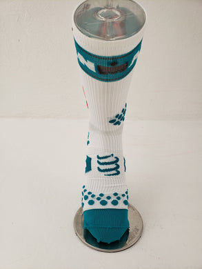Calcetin Compressport Blanca