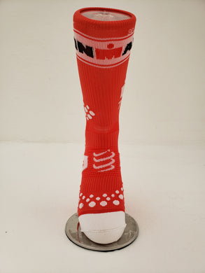 Calcetin Compressport Rojo BCO