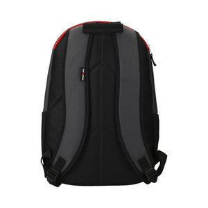 BACKPACK GREY/RED/BLACK