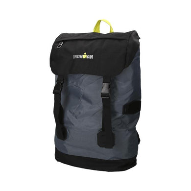 BACKPACK NATACIÓN GREY/BLACK/GREEN