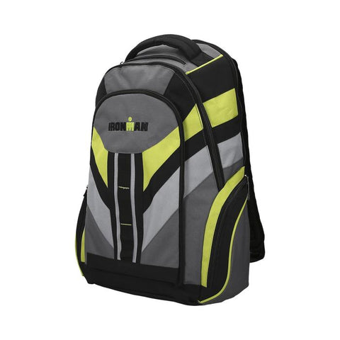 BACKPACK GREY/GREEN/BLACK