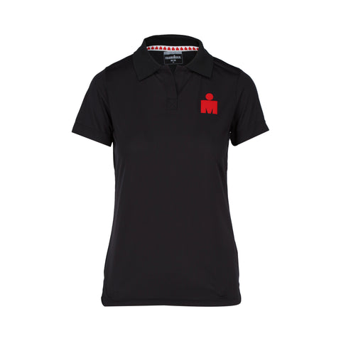 IRONMAN PLAYERA POLO DAMA NEGRA
