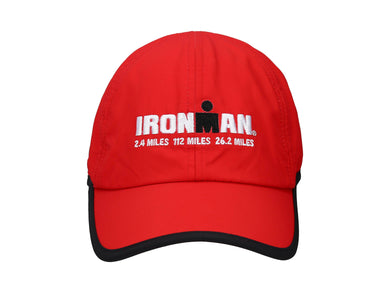 IRONMAN  RUNNING CAP RED