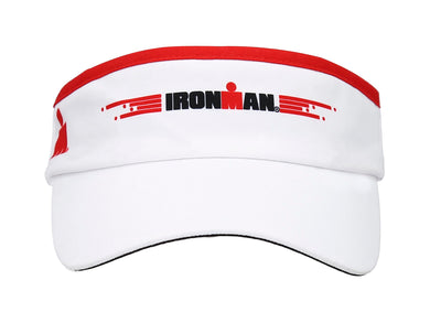IRONMAN VISOR WHITE/RED