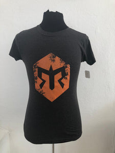 Playera Ragnar Cotton Dama Negra
