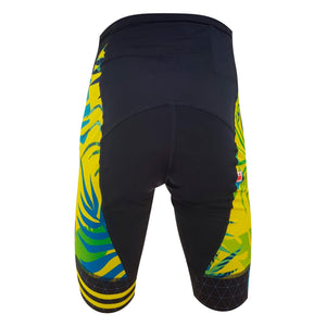 short Ciclismo im coz 70,3 palmeras amarillo / Woman