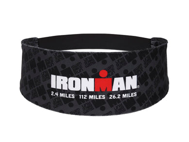 IRONMAN Sweat Band BLACK RUN