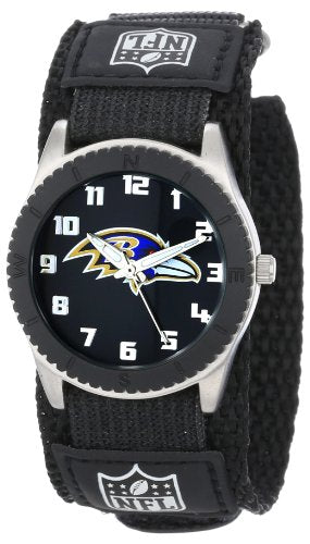03b4cb91c116a Game Time Unisex NFL-ROB-BAL Rookie Black Watch - Baltimore Ravens ...