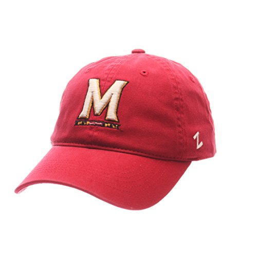 00a10e82572d5 Zephyr NCAA Maryland Terrapins Men's Scholarship Relaxed Hat, Adjustable  Size, Team Color