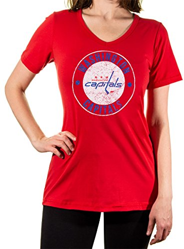 NHL Ladies Official Team V-Neck Cover up Shirt (Medium 2ac019416