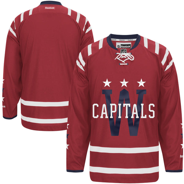 OuterStuff Washington Capitals Blank Burgundy Youth Premier Winter Classic  Jersey (Large X-Large 54b9776f7