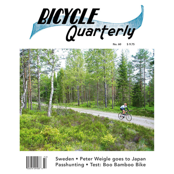Bicycle Quarterly - #60 (Summer 2017)