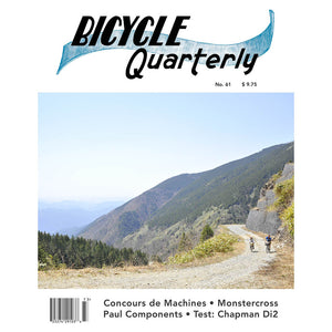 Bicycle Quarterly - #61 (Autumn 2017)