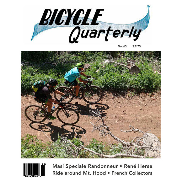 Bicycle Quarterly - #65 (Autumn 2018)