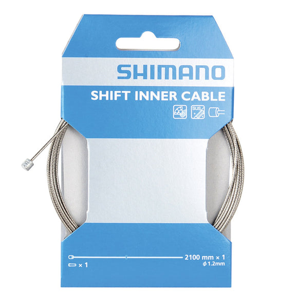 Shimano - SUS Shift Inner Cable 1.2x2100mm Stainless Steel