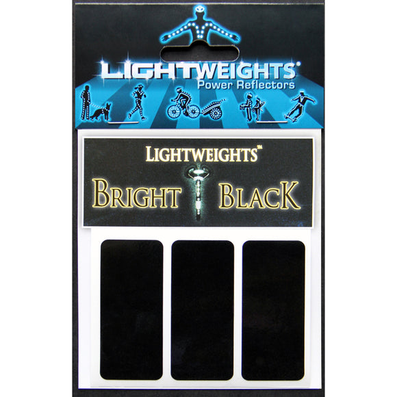 Lightweights - Stealth Black Strips (3 strips)
