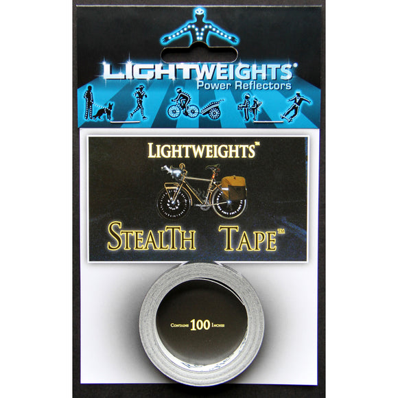 Lightweights - Stealth Black Tape (100