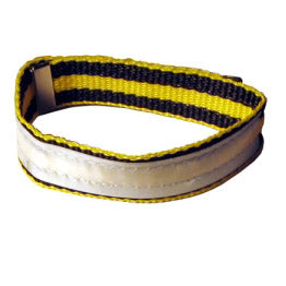 Yellow Racing - Leg Band (priced each)