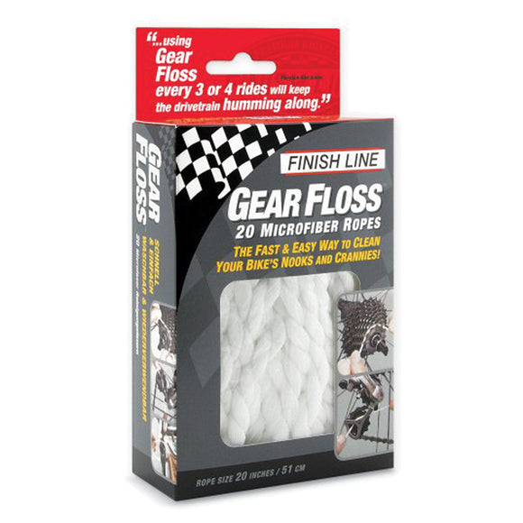 Finish Line - Gear Floss (20-pack)