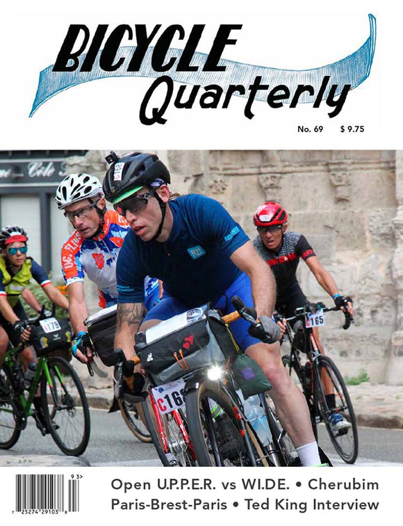 Bicycle Quarterly - #69 (Autumn 2019)