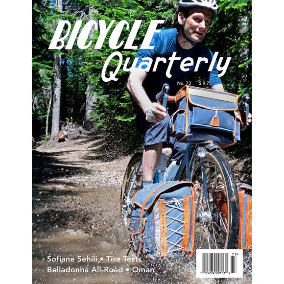 Bicycle Quarterly - #73 (Autumn 2020)