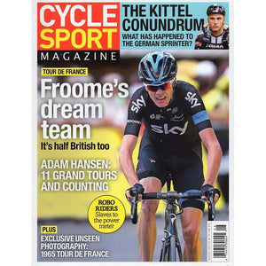 Cycle Sport (August 2015) - Froome's Dream Team