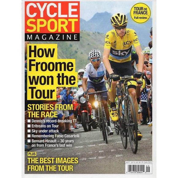 Cycle Sport (September 2015) - How Froome Won the Tour