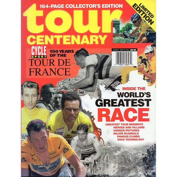 Cycle Sport - Tour Centenary (100 Years of the Tour de France) (2003)