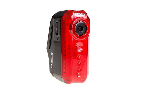 Cycliq - Fly6[v] HD Rear Bike Camera and 30 Lumen Tail light