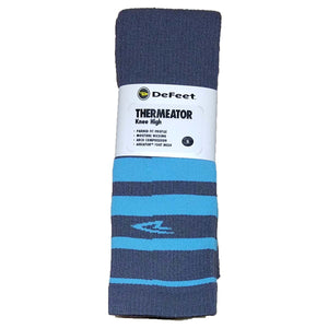 DeFeet - Thermeator Knee High (Graphite/Lt Blue)