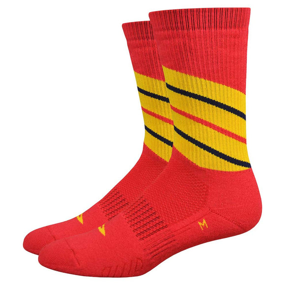DeFeet - Thermeator Twister (Red/Gold)