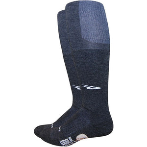 DeFeet - Woolie Boolie Knee-Hi Charcoal
