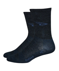 "DeFeet - Wooleator 5"" (Charcoal)"