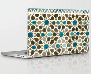 Ibn Khaldun Laptop Decal - Khtout