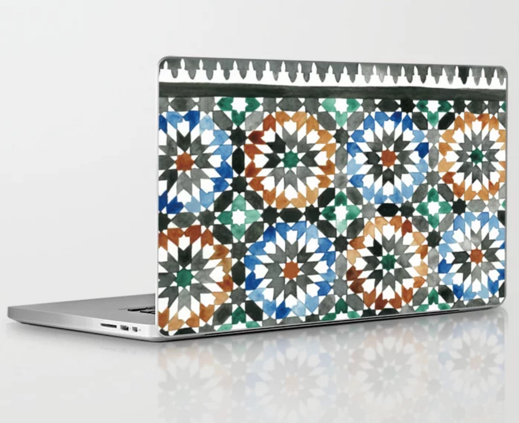 Ibn Battutah Laptop Decal - Khtout