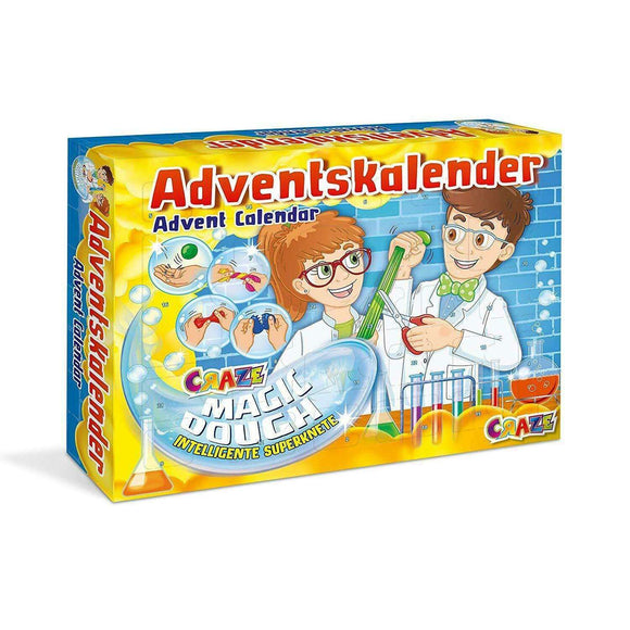 Spar King-Craze 19399 Adventskalender Magic Dough Spielzeugkalender magische Zauberknete