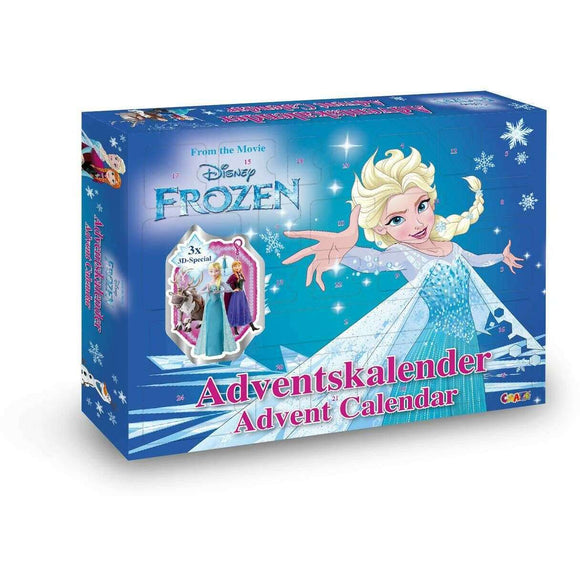 Spar King-Craze 19511 Adventskalender Disney Frozen Spielzeugkalender Figuren Kinder