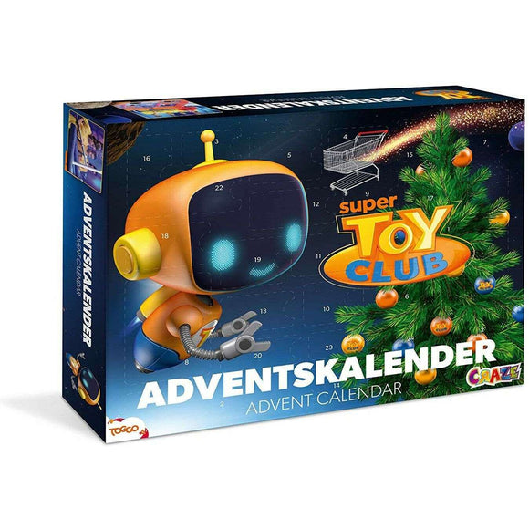 Spar King-Craze 20289 Adventskalender Super Toy Club Spielzeugkalender Wissen Kinder