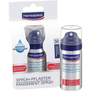 Spar King-Hansaplast Sprühpflaster Spray transparent wasserfest atmungsaktiv 32,5 ml