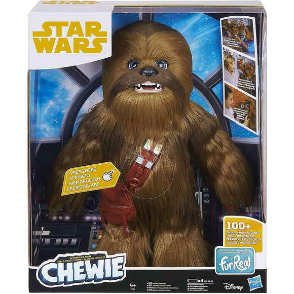Spar King-Hasbro E0584EU4 FurReal Friends Star Wars Chewbacca Interaktive Plüschfigur