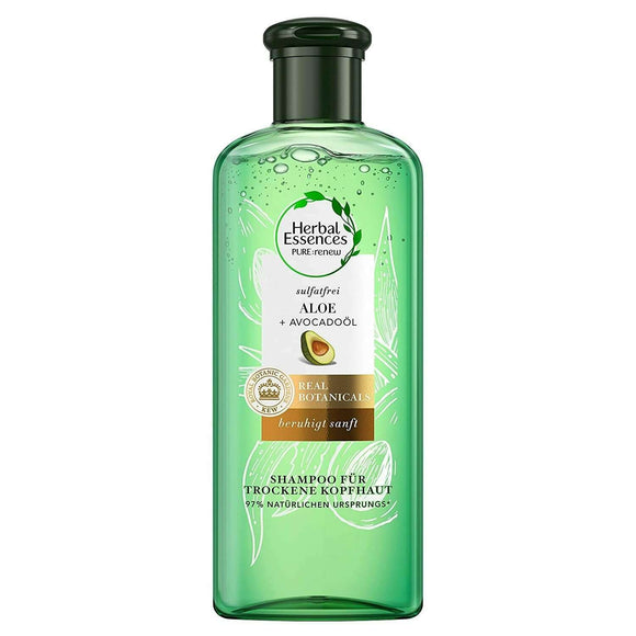 Spar King-Herbal Essences Pure Renew Sulfatfreies Shampoo Trockene Kopfhaut 225 ml