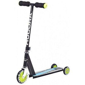 Spar King-HUDORA 22015 Evolution Boy Scooter 2in1 Kinder-Roller 20 kg Tragkraft Schwarz